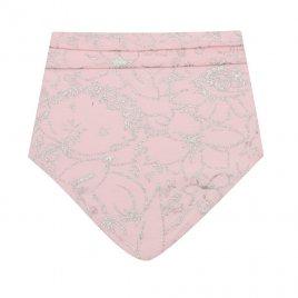 New Baby Kojenecký bavlněný šátek na krk New Baby NUNU růžový S