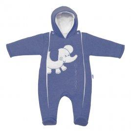 New Baby Zimní kombinézka New Baby Winter Elephant jeans