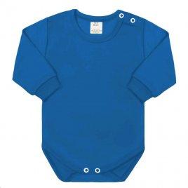 New Baby Kojenecké body s dlouhým rukávem New Baby modré