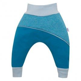 New Baby Softshellové kojenecké kalhoty New Baby modré