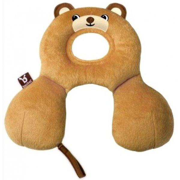 BenBat Cestovní polštářek s opěrkou hlavy 0-12m Medvěd