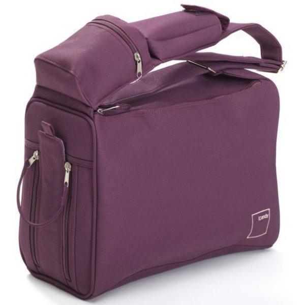 iCandy Přebalovací taška Lifestyle Vínová