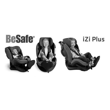 BeSafe IZI PLUS autosedačka Interier car 46