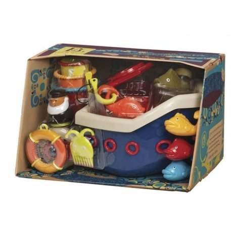 B.toys Loď s kapitánem FISH & SPLISH