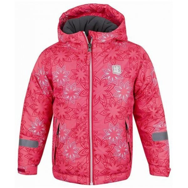 Gmini Zimní bunda ADAM s fleece podšívkou Květy