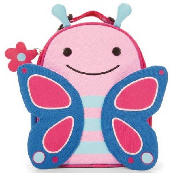 Skip Hop Zoo Svačinový batůžek Motýlek