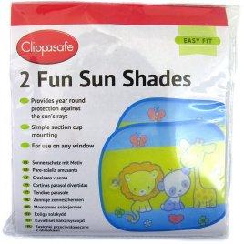 Clippasafe Sluneční roleta s přísavkou 2ks