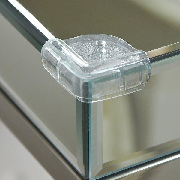 Clippasafe Plastová ochrana skleněných rohů
