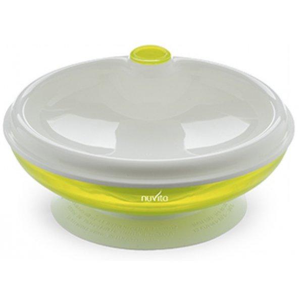 Nuvita Ohřívací talířek s přísavkou Zelená