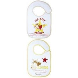 Babycalin Set 2 kojeneckých slintáčků/bryndáčků