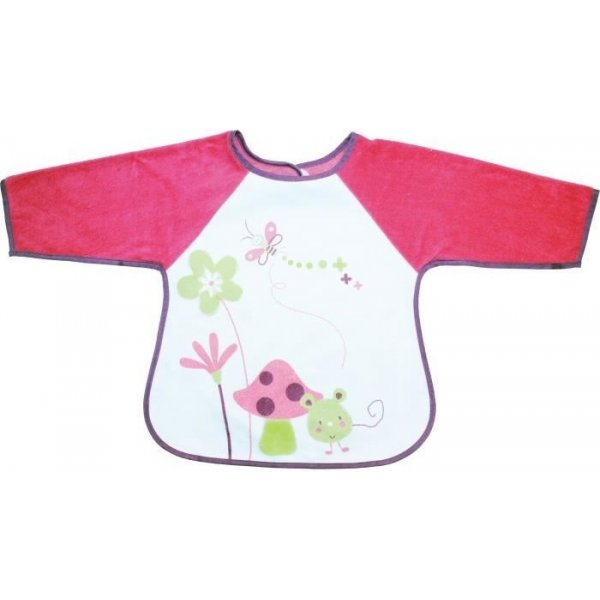 Babycalin Bryndáček s rukávky Růžová