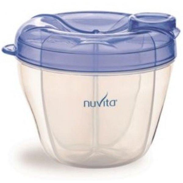 Nuvita Nádoba na sušené mléko Modrá