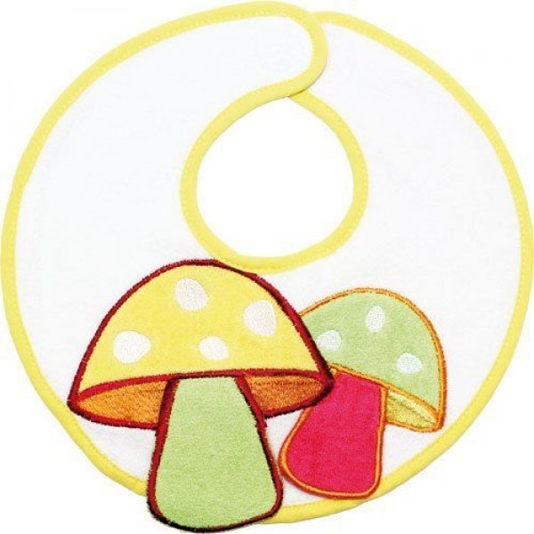 Babycalin Novorozenecký froté pískací bryndáček Žlutá