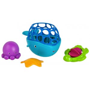 Bright Starts Kamarádi do koupele Oball H2O Tubby Scoop Friends™ 6m+