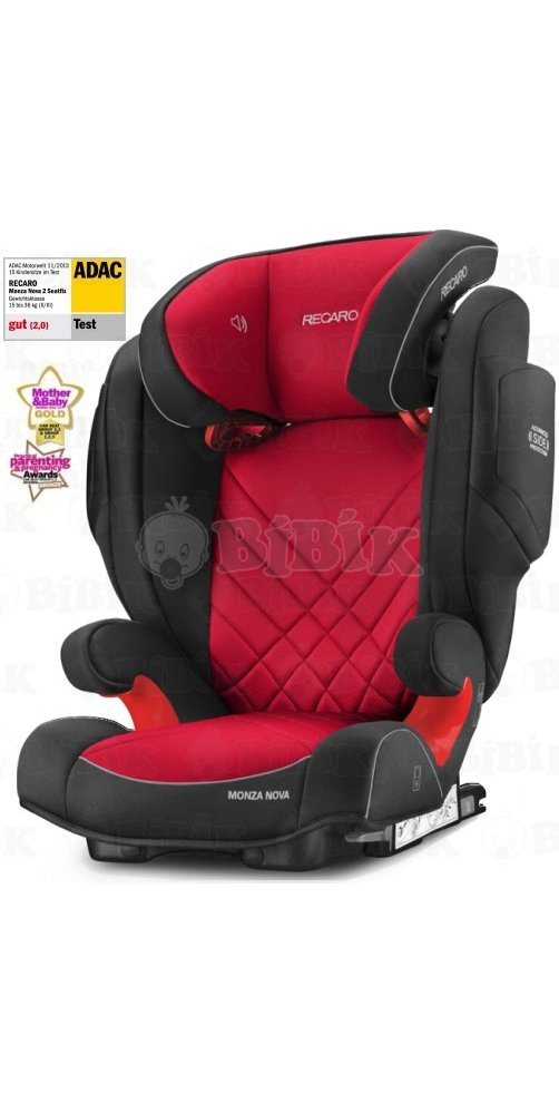 recaro monza nova 2 seatfix autoseda ka 2017 racing red. Black Bedroom Furniture Sets. Home Design Ideas