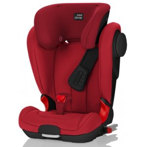 Römer KIDFIX II XP SICT Black Edition autosedačka 2018 Flame Red