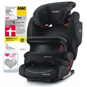 Recaro MONZA NOVA IS autosedačka 2017 Performance Black