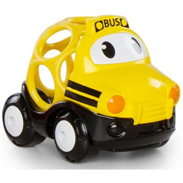 Oball Hračka autobus školní Thomas Go Grippers 18m+ Žlutá