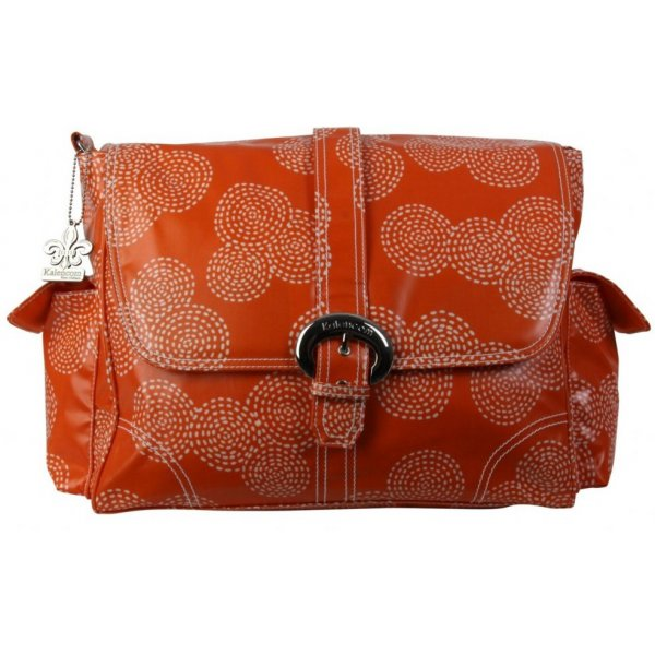 Kalencom Přebalovací taška BUCKLE BAG Stitches Orange