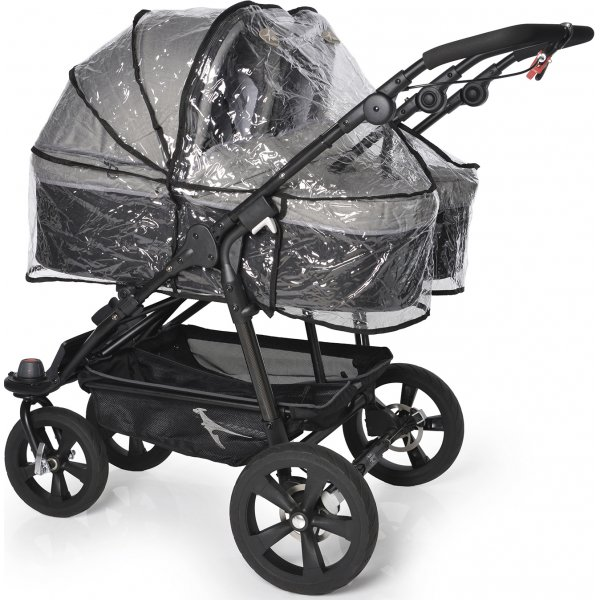 TFK Raincover double Carrycot T-003-44-2