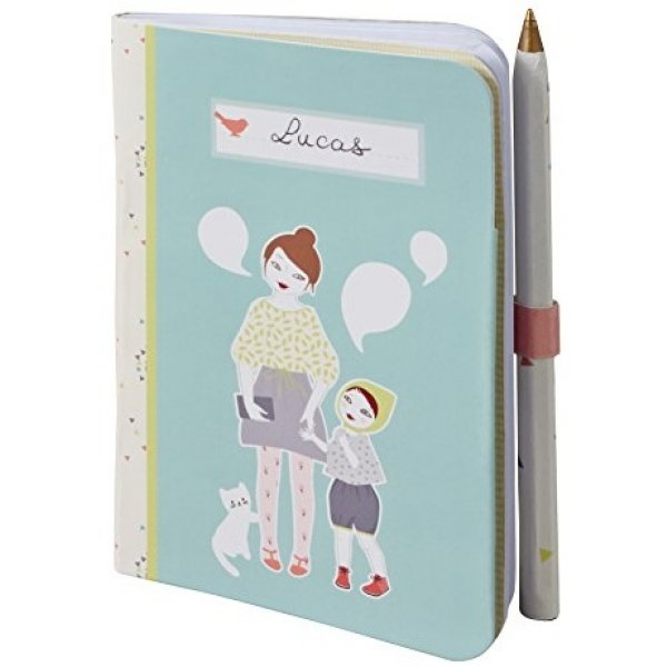 Baby Art Zápisník My Funny Words Modrá