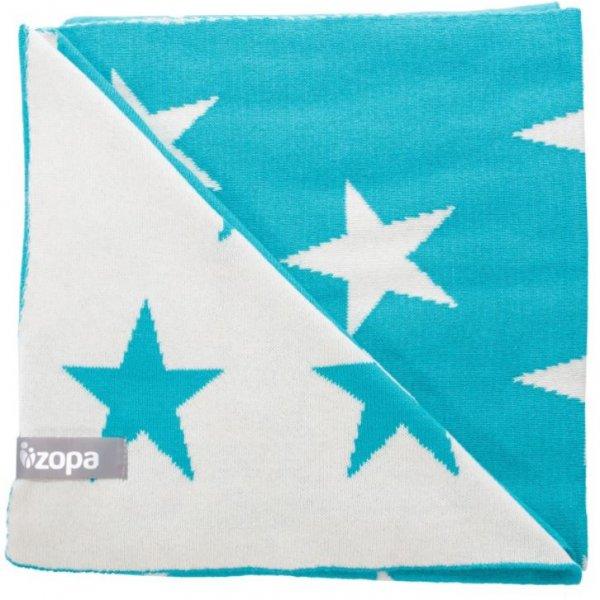 Zopa Dětská deka Stars Mint