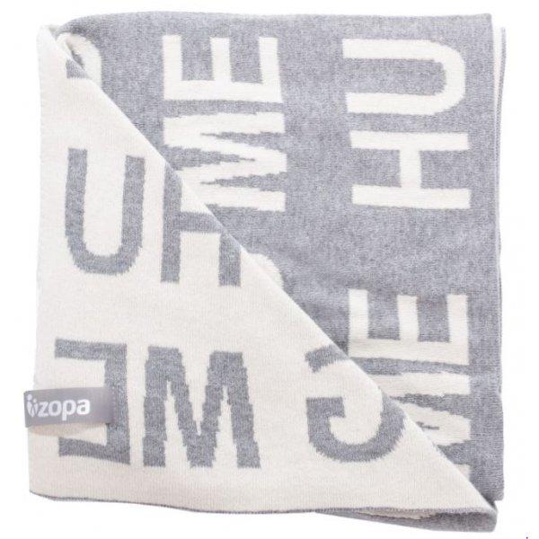 Zopa Dětská deka Hug Me Grey