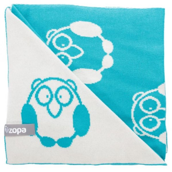 Zopa Dětská deka Little Owl Mint