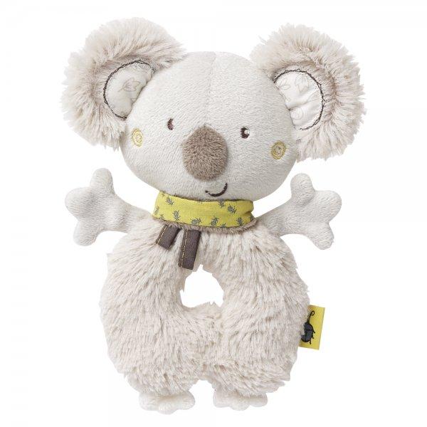 Baby Fehn Australia měkký kroužek koala Šedá