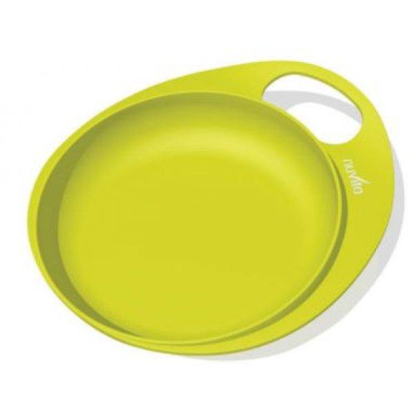 Nuvita Talíře se zvýšeným okrajem 2ks Zelená