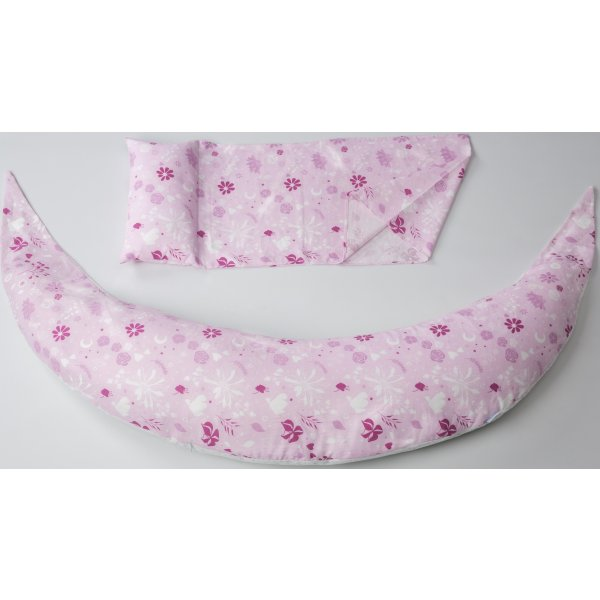 Nuvita Dream Wizard multifunkční polštář Pink Flower