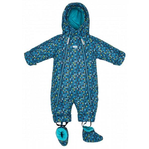 Gmini BANO-overal kojenecký 3000/3000 Modrá