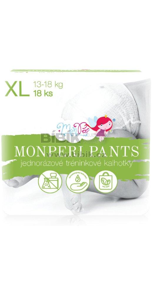 MonPeri Jednorázové kalhotky Pants Bílá   Bibik.cz 8116badb09