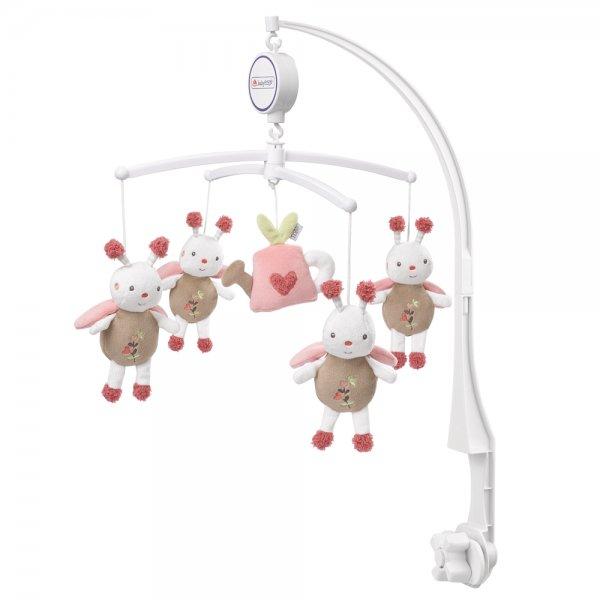 Baby Fehn Garden hrací kolotoč Růžová