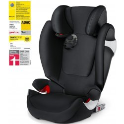 Cybex Solution M-Fix autosedačka 2018 Lavastone Black