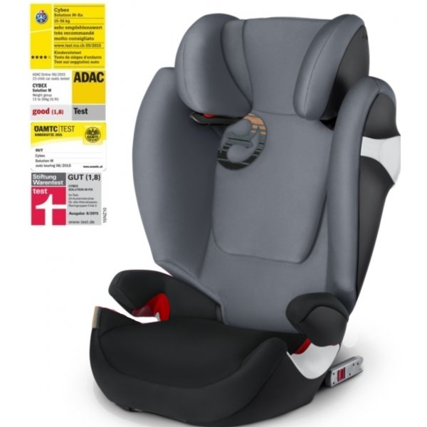 Cybex Solution M-Fix autosedačka 2018 Pepper Black