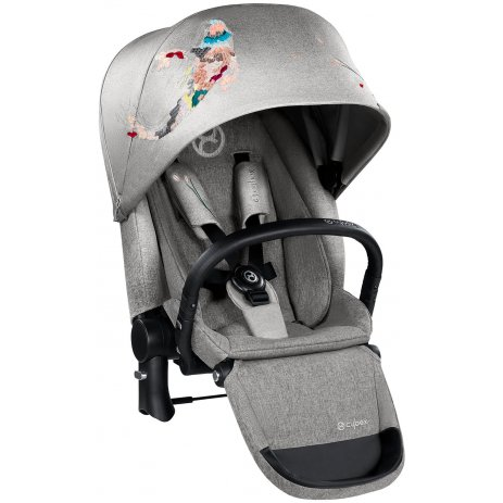 Cybex Kočárek Set Priam All Terrain Chrome Seat Lux Fashion 2018 Koi Crystallized