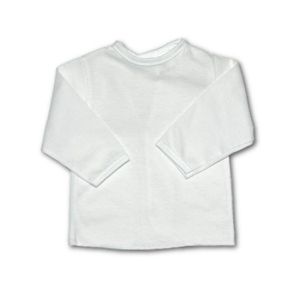 New Baby Kojenecká košilka New Baby bílá Bílá