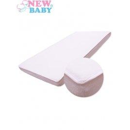 New Baby Nepromokavé prostěradlo New Baby 120x60 bílé