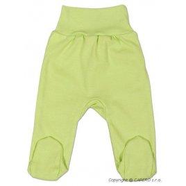 New Baby Kojenecké polodupačky New Baby zelené
