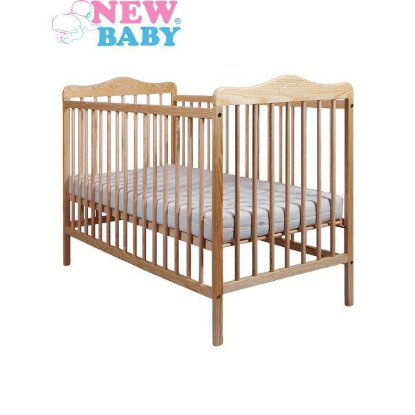 New Baby Dětská postýlka New Baby Jacob - přírodní Přírodní