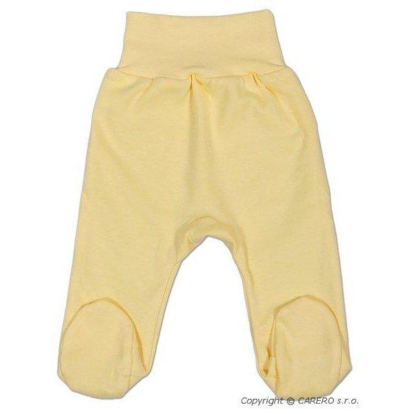 New Baby Kojenecké polodupačky New Baby žluté Žlutá
