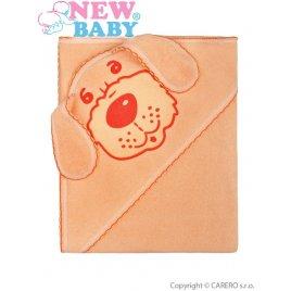New Baby Dětská froté osuška 80x80 pejsek