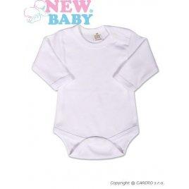 New Baby Body dlouhý rukáv New Baby - bílé