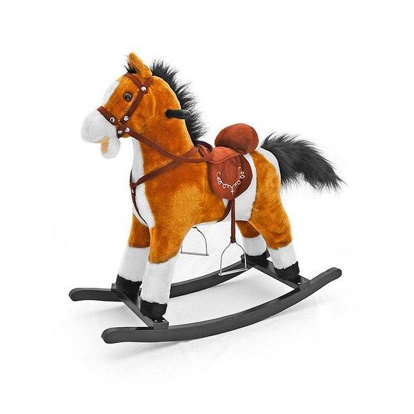 Milly Mally Houpací koník s melodií Milly Mally Mustang světle hnědý Hnědá
