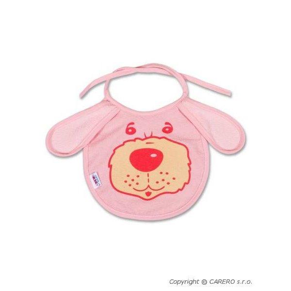 New Baby Dětský bryndák New Baby růžový Růžová