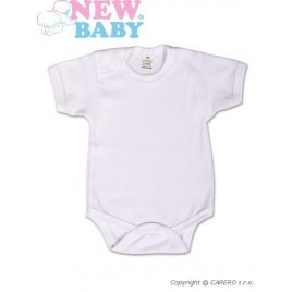 New Baby Body krátký rukáv New Baby Classic