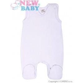 New Baby Dupačky bílé New Baby Classic