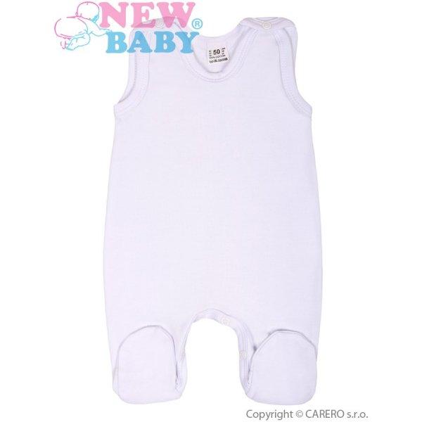 New Baby Dupačky bílé New Baby Classic Bílá