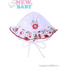 New Baby Kojenecká čepička New Baby Beruška